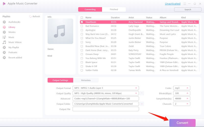 Convert Audible Files to MP3