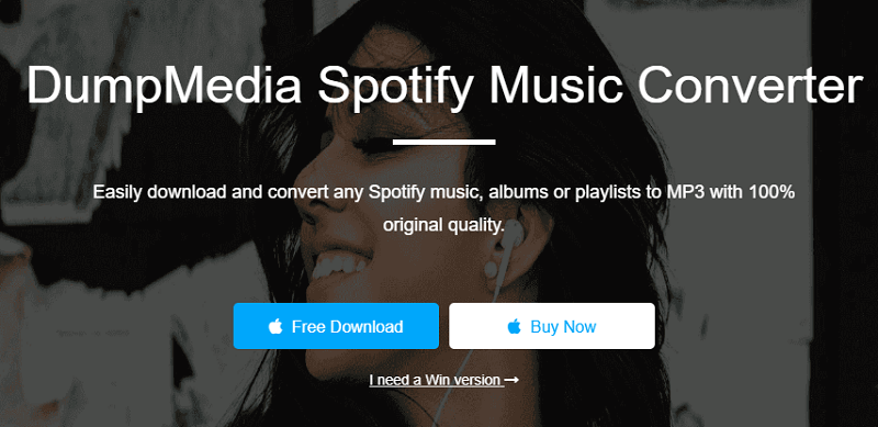 Download the Dumpmedia Spotify Music Converter