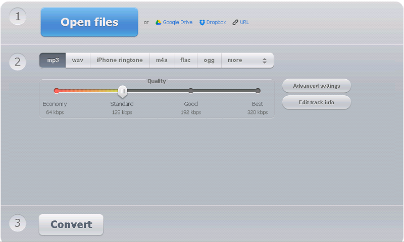 AAX to MP3 Online Converter