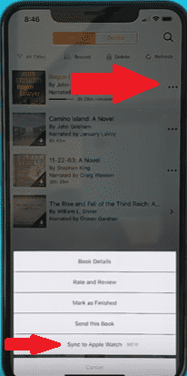 Add Audible Audiobooks to Apple Watch