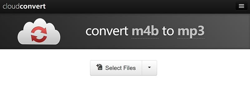 Convert M4B to MP3 Using Cloudconvert