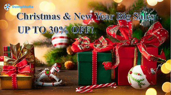 Grote verkoop tijdens Kerstmis en Nieuwjaar