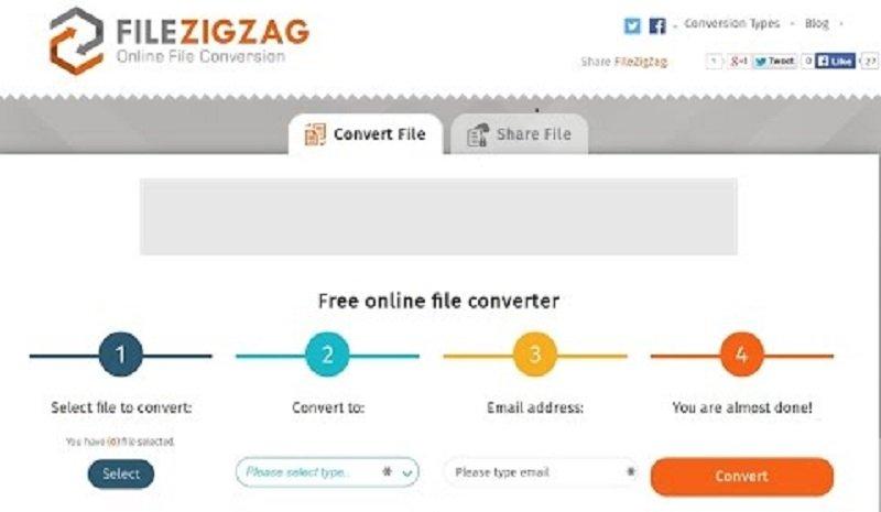 FileZigZag在線轉換器