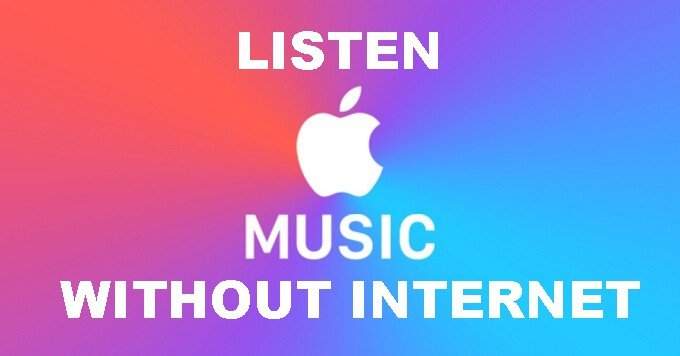 ¿Puedes usar Apple Music sin Wifi?