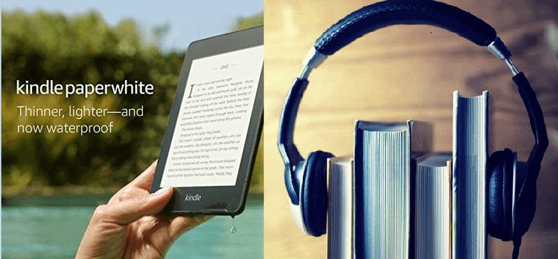 Können Sie Hörbücher auf Kindle Paperwhite hören?