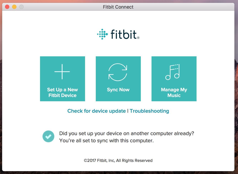 Transfiere música a Fitbit Versa
