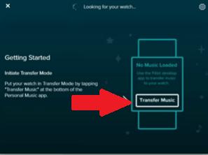 Transfiere las canciones a Fitbit Versa