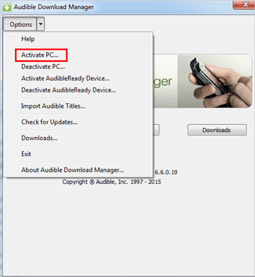 Get Audible Download Manager