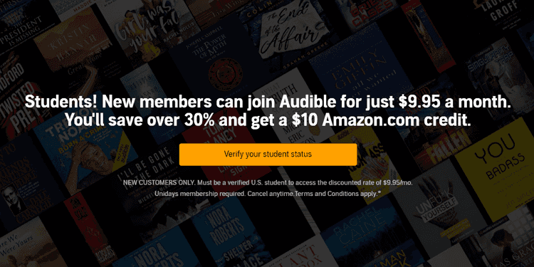 Is Audible Free for Students