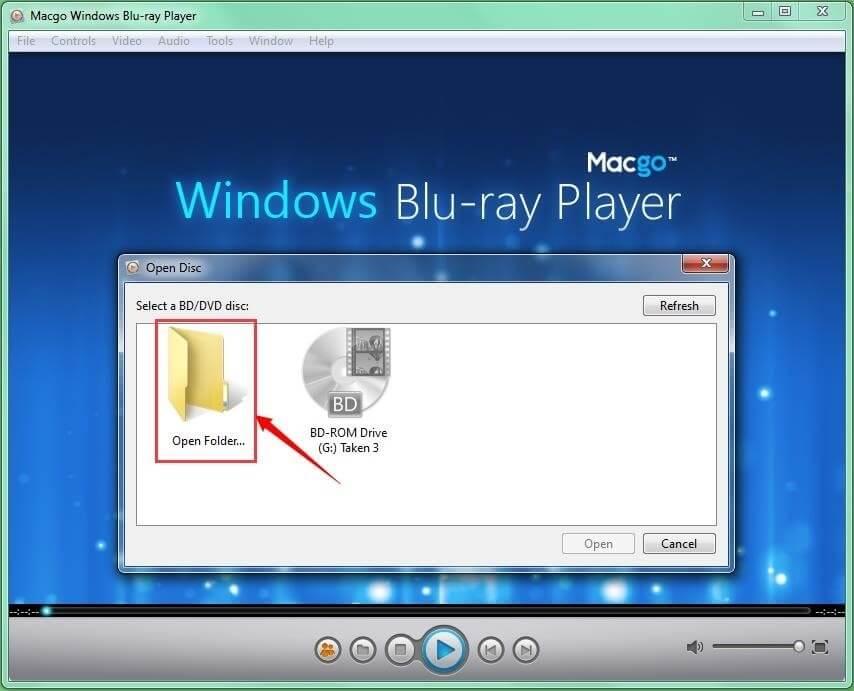 Play Bdmv Folder