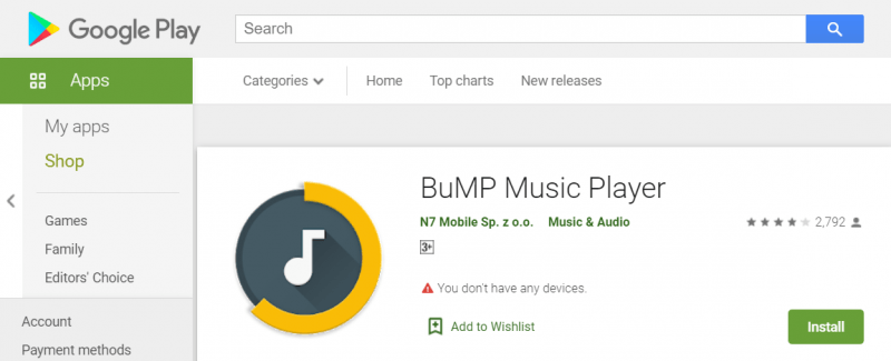 Download BuMP Music Player