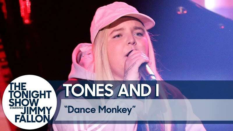 Most Played Songs on Spotify Dance Monkey