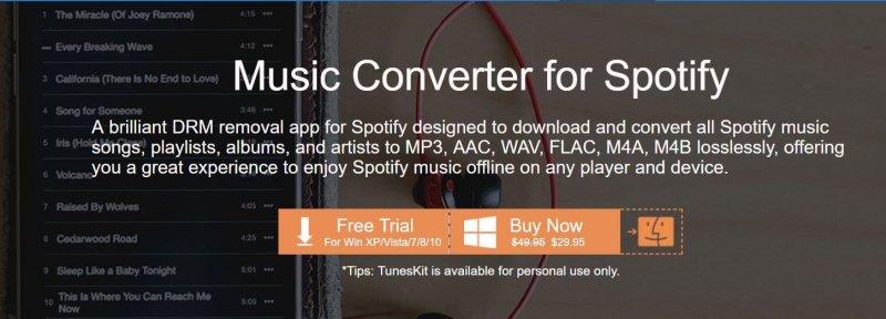 Laden Sie den Tuneskit Spotify Converter herunter