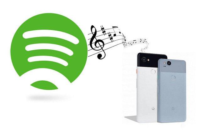 Setzen Sie Musik auf Pixel 0