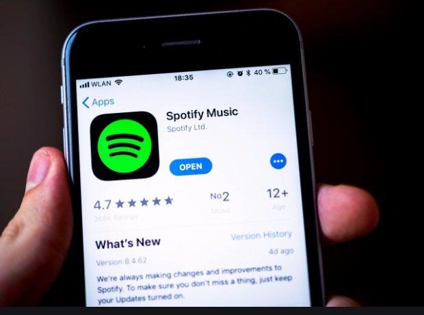 Installez à nouveau Spotify