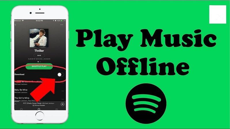 Speel Spotify offline