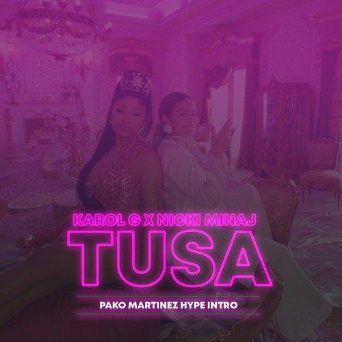 Meest gespeelde nummers op Spotify Tusa