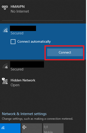 Check Internet Connection on Windows
