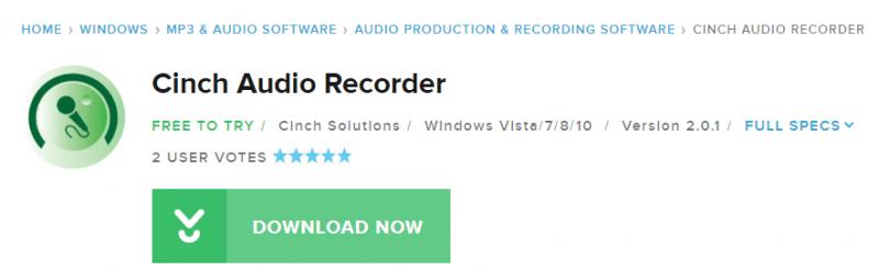 Download Cinch Recorder