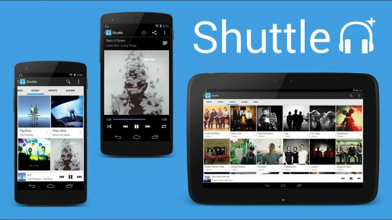 Shuttle Music Player