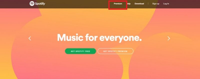 Sign Up For Spotify Premium