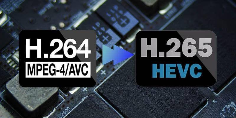 H264 Vs H265
