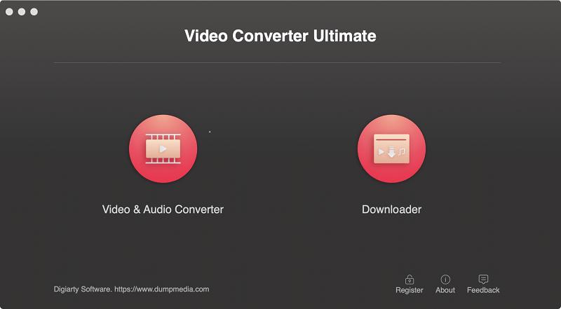 Aktivieren Sie Video Converter Main