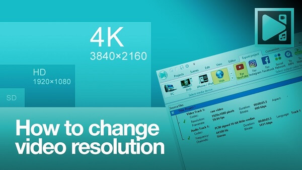 Change Video Resolution