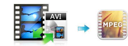 Convert AVI to MPEG