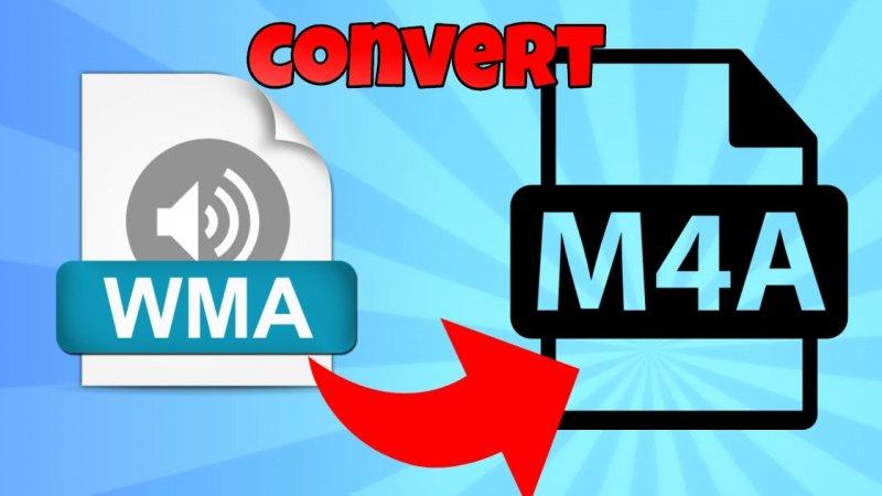 Convert WMA to M4A