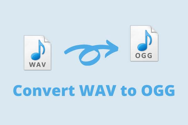 轉換WAV到OGG
