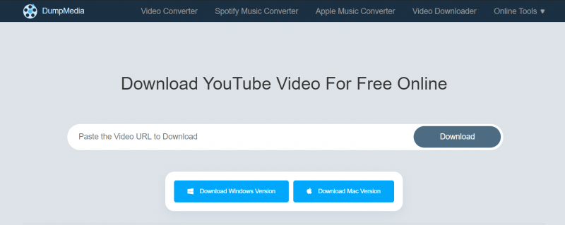 DumpMedia Online Video Downloader